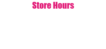Store Hours Monday and Tuesday: 3pm-6pm Wednesday: 9am-12:00pm Thursday, Friday, Saturday: By appointment only Our store location will be closed during vendor events. Please refer to our upcoming events for those dates!