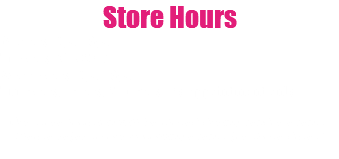 Store Hours Monday: 3pm-6pm Tuesday: CLOSED Wednesday: 3pm-6pm Thursday, Friday, Saturday: By appointment only Our store location will be closed during vendor events. Please refer to our upcoming events for those dates!