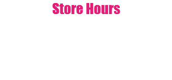 Store Hours Monday: 3pm-6pm Tuesday: 3pm-6pm Wednesday: 3pm-6pm Thursday, Friday, Saturday: By appointment only Our store location will be closed during vendor events. Please refer to our upcoming events for those dates!